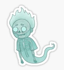Ghost Morty Sticker