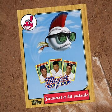 Major League Movie Poster Card by Tomreagan