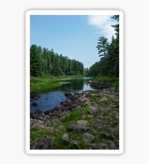 Boundary Waters River Bed Sticker