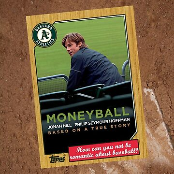 Moneyball Movie Poster Card by Tomreagan