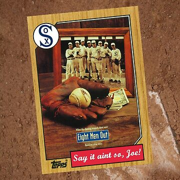 Eight Men Out Movie Poster Card by Tomreagan