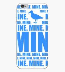 Mine in blue iPhone Case