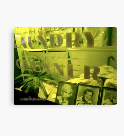 Laundry and Dry Cleaning Canvas Print