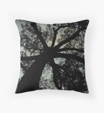 Look Upwards its in the bag Throw Pillow