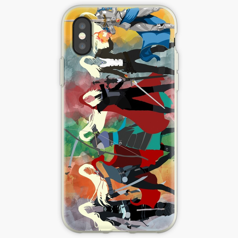 Throne of Glass Series Watercolor iPhone Case & Cover