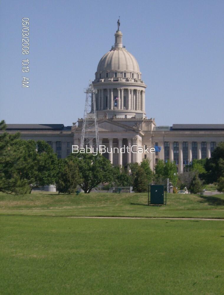 Oklahoma State Capitol in OKC by BabyBundtCake