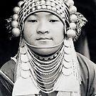 Akha maiden, Thailand by John Spies