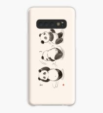 Panda Food Dance Case/Skin for Samsung Galaxy