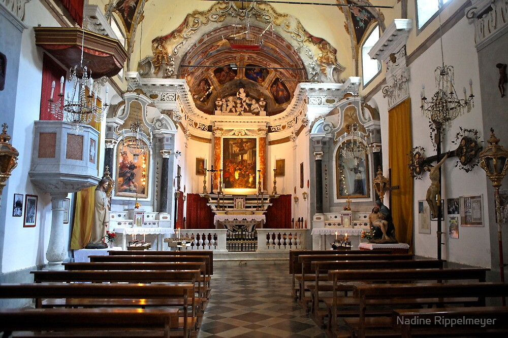 Monterosso Chapel by Nadine Rippelmeyer