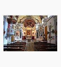 Monterosso Chapel Photographic Print