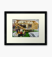 Mobile Home Framed Print