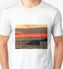 OMINOUS CLOUDS ON LAKE WINNIPEG T-Shirt