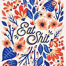 Essen Sie Sh * t - Coral & White Palette von Cat Coquillette