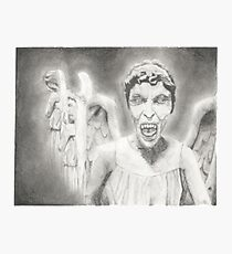 Don't Blink. Photographic Print