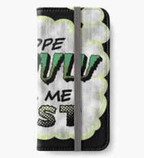 Deep One Thoughts iPhone Wallet/Case/Skin