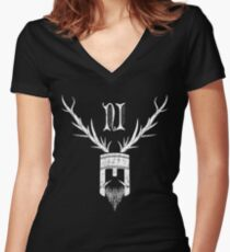 The Knight Who Said...... Women's Fitted V-Neck T-Shirt