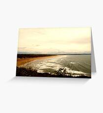 View to Saunton Sands Beach Greeting Card