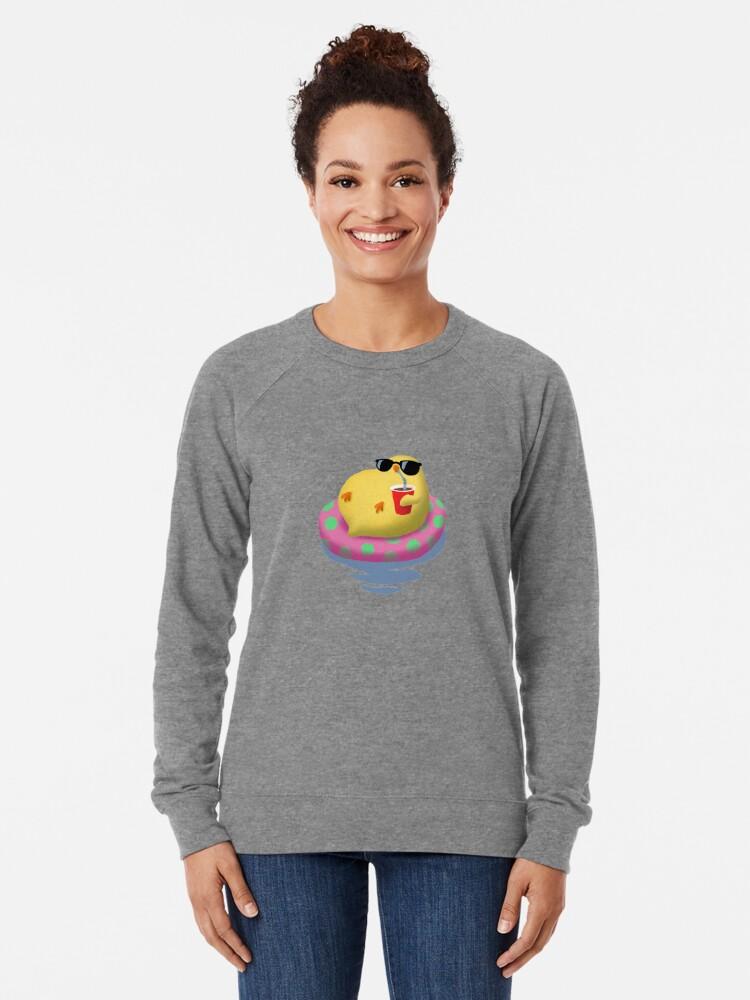 Alternate view of Chick on vacation Lightweight Sweatshirt