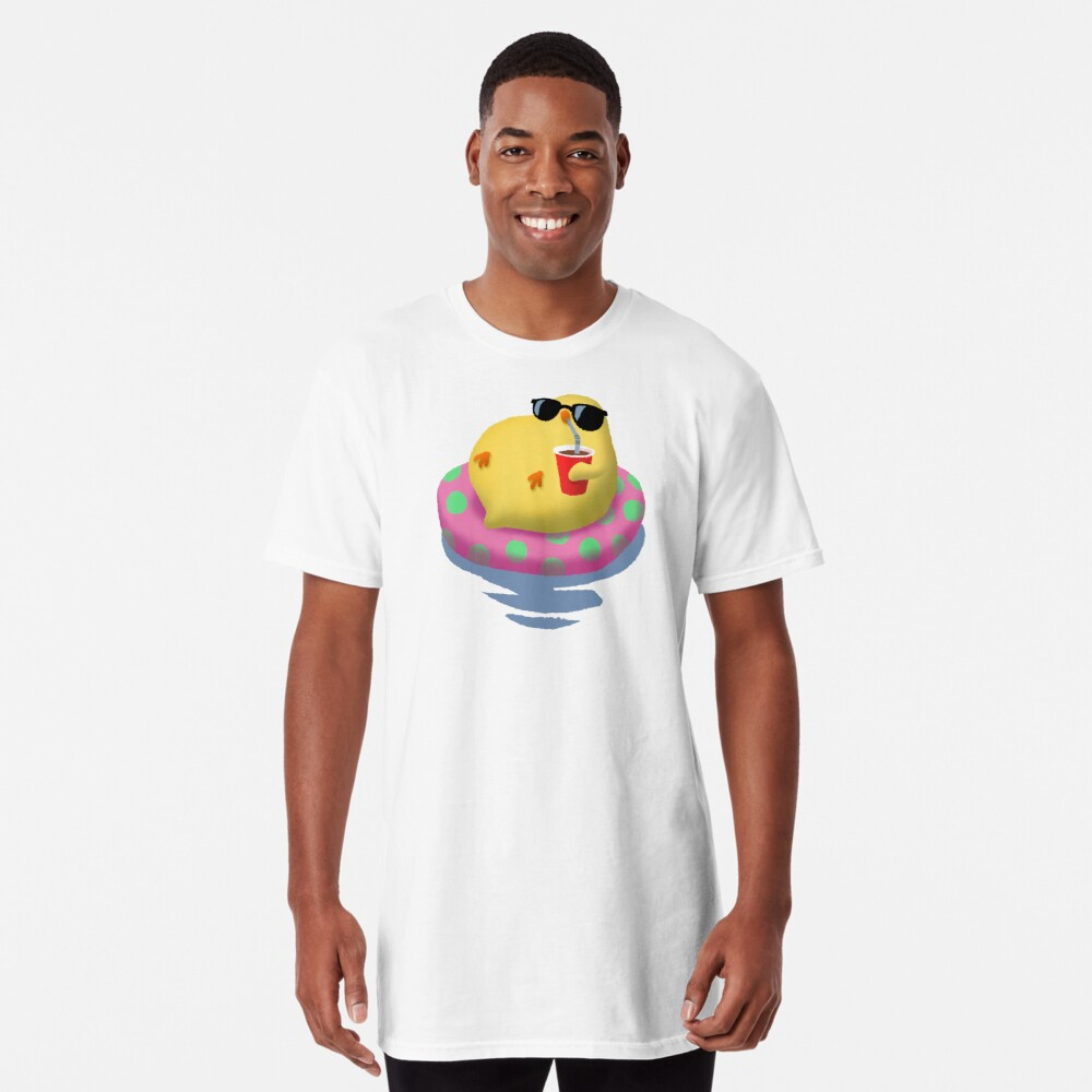 Chick on vacation Long T-Shirt