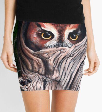 Sentinels -  Eastern screech owls Mini Skirt