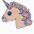 ★ Kawaii Unicorn by cadcamcaefea