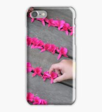The games little girls play iPhone Case/Skin