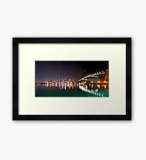 Kirribilli view Framed Print