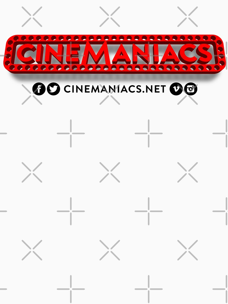 Cinemaniacs 3D LOGO [on white] by DCdesign