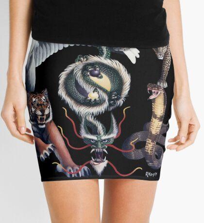 The Five Animals Mini Skirt