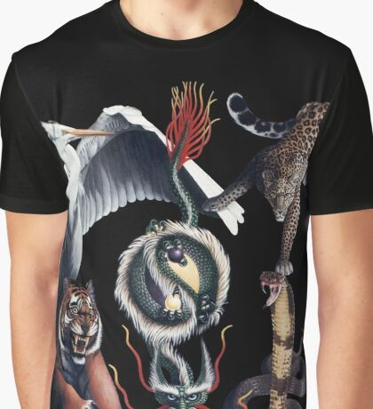 The Five Animals Graphic T-Shirt