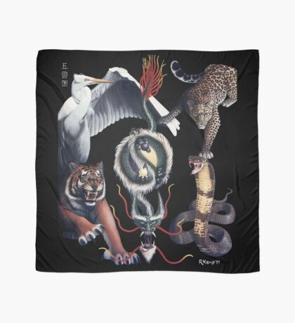 The Five Animals Scarf