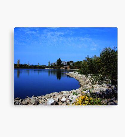 Lake Devonian Canvas Print