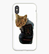 Iron Maiden Cat iPhone Case