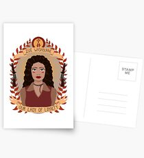 Zoe Washburne Postcards