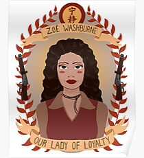 Zoe Washburne Poster