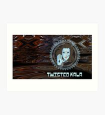 Twisted Kala Psychedelic - Magic Blessings! Art Print