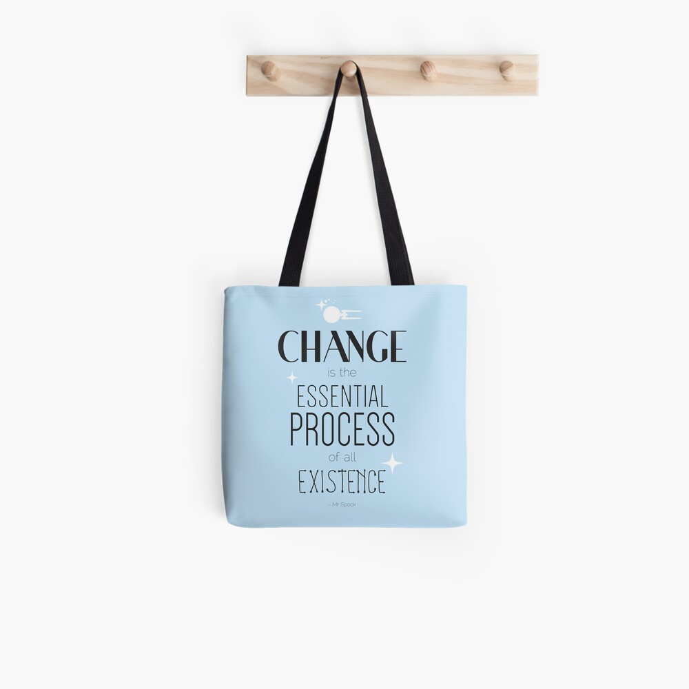 Mr. Spock Quote Tote Bag