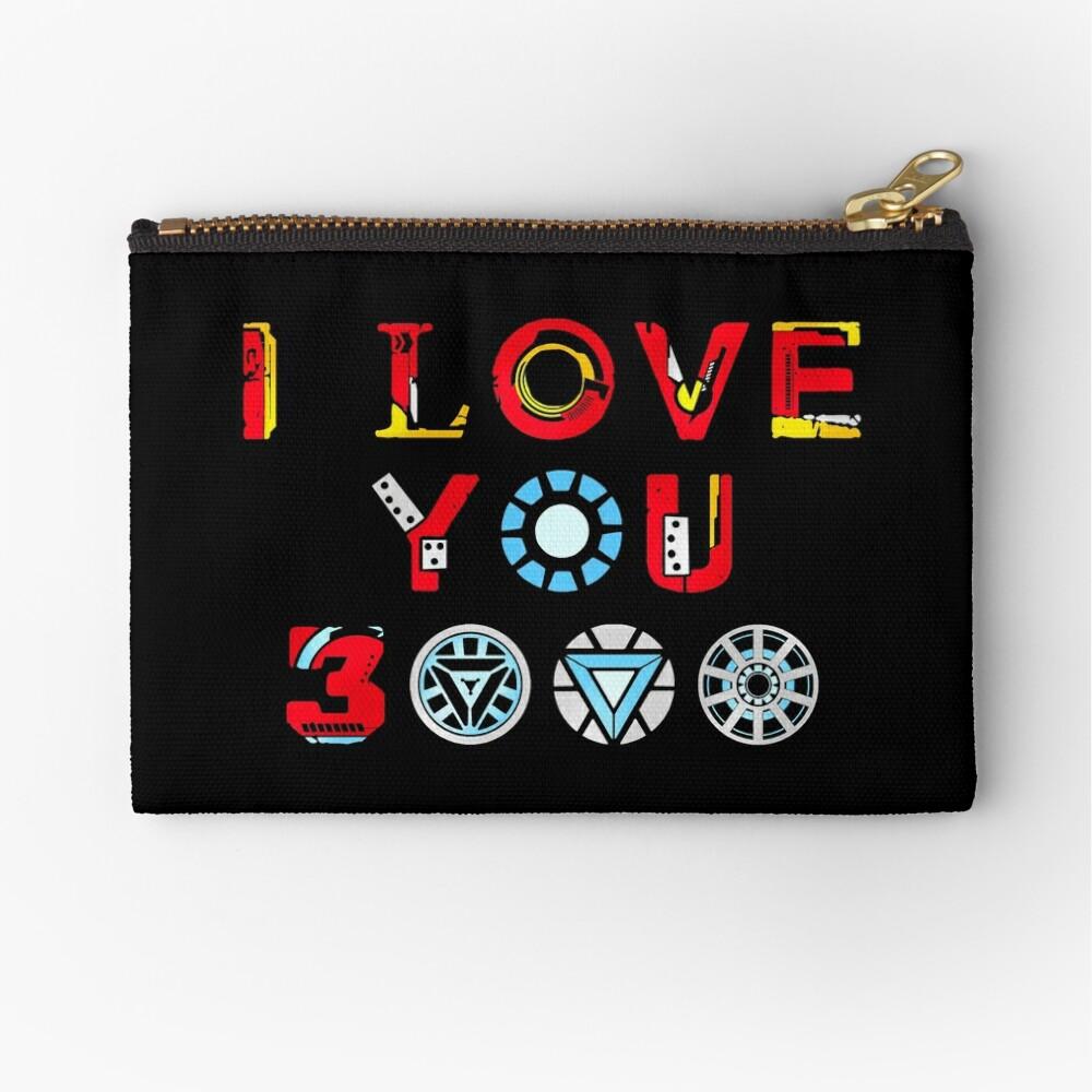 I Love You 3000 v3 Zipper Pouch