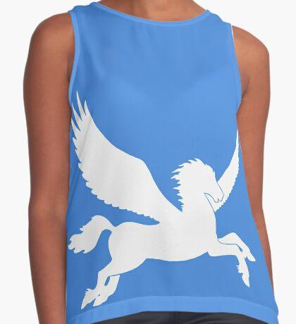 White Pegasus Silhouette Sleeveless Top