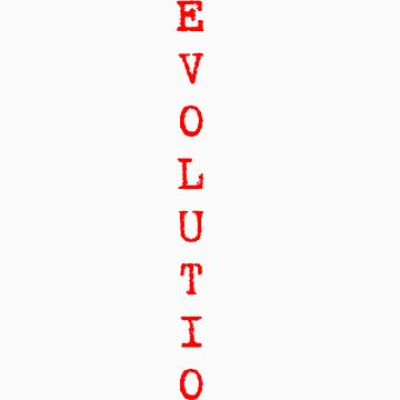 Darwin Revolution - Black text by PaulDuckett