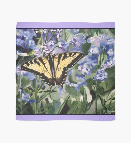 Yellow Swallowtail Butterfly Scarf