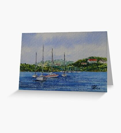 Quiet Inlet - North Shore Greeting Card