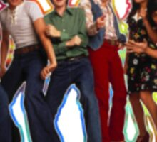 That 70s Show The Gang Tie Dye Sticker
