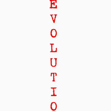 Darwin Revolution - White text by PaulDuckett