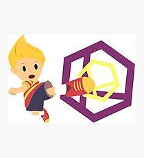 Lucas Super Smash 4 WiiU Photographic Print