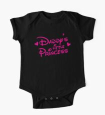 Daddy's little Princess cute! One Piece - Short Sleeve