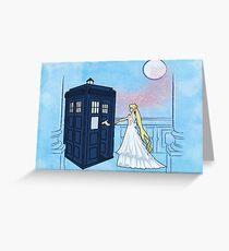 Doctor Moon Greeting Card