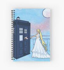 Doctor Moon Spiral Notebook