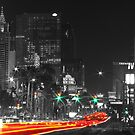 Green and Red on the Strip by Henry Plumley