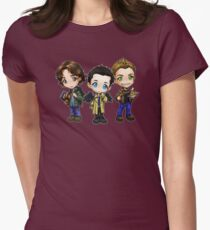 Team Free Will - Chibi Style Women's Fitted T-Shirt